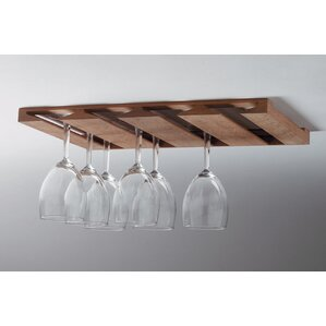 Wall Mount Wine Glass Rack by Whitecap Industries