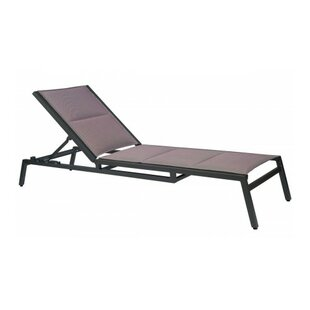 Woodard Palm Coast Sling Reclining Chaise Lounge