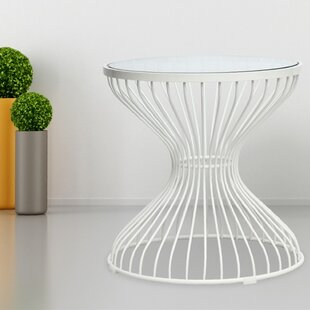 Squeezed End Table by Fine Mod Imports