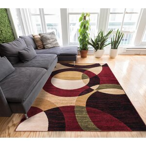 Chelsi Rings/Circles Area Rug