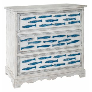 Harter 3 Drawer Accent Chest by Highland Dunes