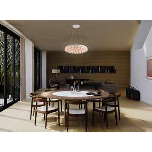 Brayden Studio Durham 1-Light LED Novelty Chandelier