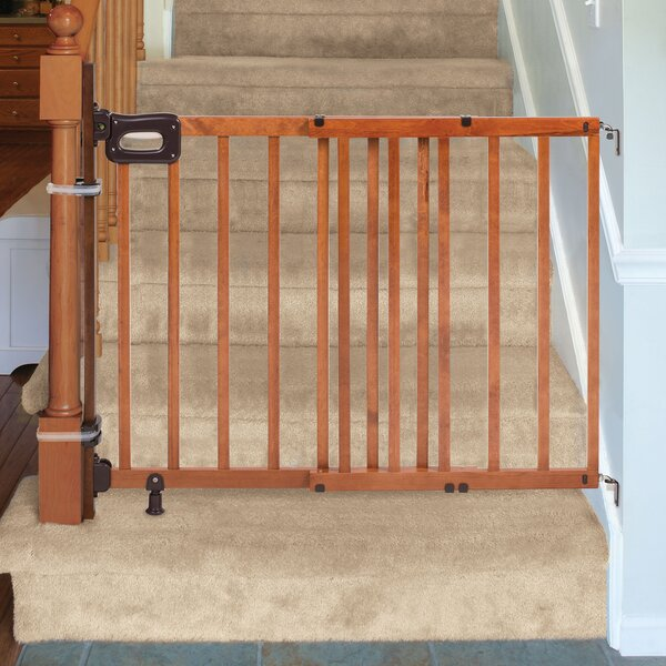 Banister To Wall Baby Gate Wayfair