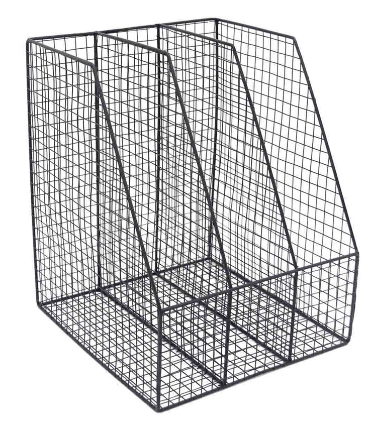 Williston Forge Mckey Functionally Designed Wire Mesh Letter Holder
