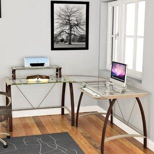 Bustleton Reversible L-Shape Computer Desk