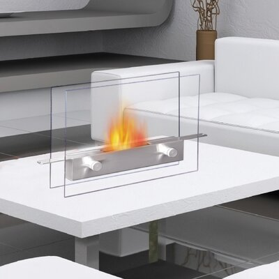 Metropolitan Bio-Ethanol Tabletop Fireplace Anywhere Fireplace