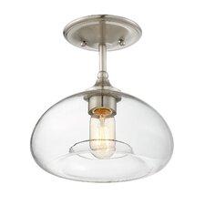 biloxi 1light semi flush mount - Semi Flush Mount Lighting