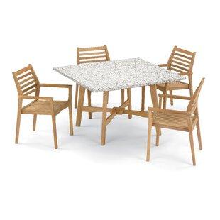 Eichhorn 5 Piece Dining Set