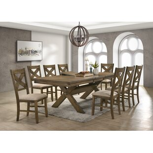 Poe 9 Piece Extendable Dining Set
