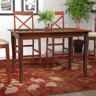 Fetter Solid Wood Dining Table Red Barrel Studio