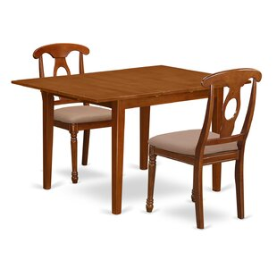 Lorelai 3 Piece Dining Set by Alcott Hill Savings