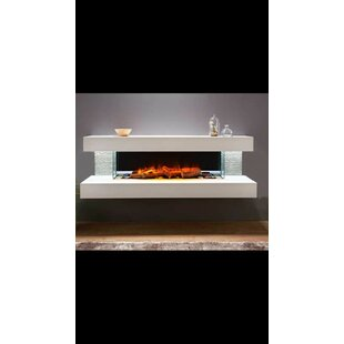 Katlyn Wall Mounted Electric Fireplace by Orren Ellis
