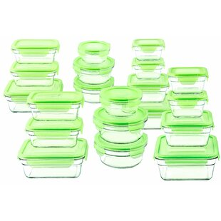 Glasslock 20 Container Food Storage Set