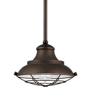 Capital Lighting 1-Light Cone Pendant
