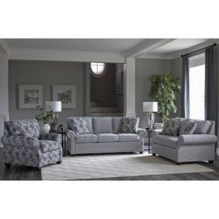 Peebles 3 Piece Living Room Set by Canora Grey