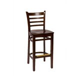 Burlington Solid Wood 29.5 Bar Stool by BFM Seating