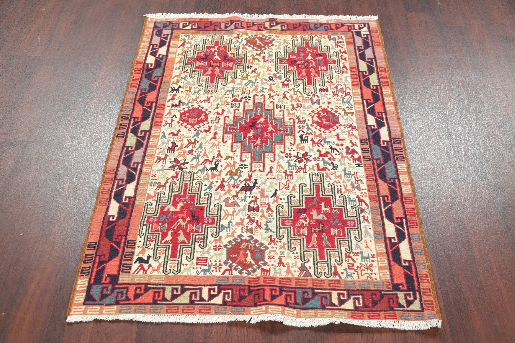 Loon Peak One Of A Kind Molimo Hand Knotted New Age Beige 4 8 X 3 6 Area Rug Wayfair