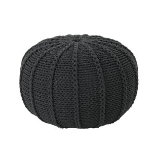 Find a Bryant Maag Knitted Pouf By Gracie Oaks