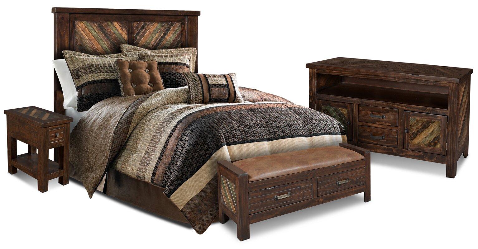 Loon Peak Culbertson Panel Bedroom Set & Reviews | Wayfair