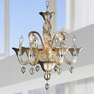 Rosdorf Park Melvina 6-Light Chandelier
