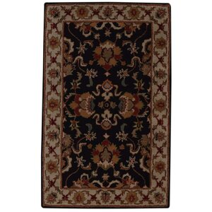 Copper Vintage Hand-Tufted Wool Black/White Area Rug
