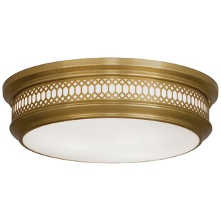 Robert Abbey Williamsburg Tucker 3-Light Flush Mount