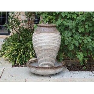 Hahira Ceramic Water Feature Image