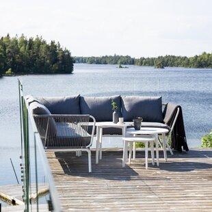 Mahika 5 Seater Corner Sofa Set By Sol 72 Outdoor