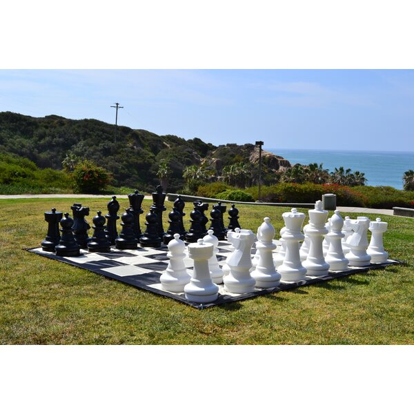 Brand NEW Garden Chess Pieces Giant Outdoor Chess Board Game Figures