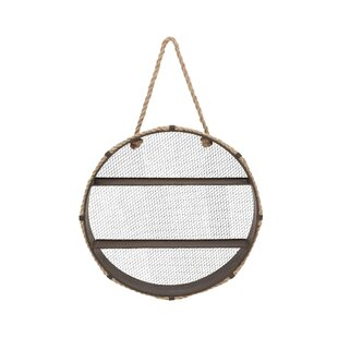 Metal Rope Accent Shelf by Cole & Grey