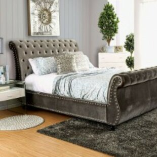 Schofield Contemporary Upholstered Sleigh Bed