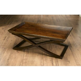 Vermont Coffee Table with Tray Top