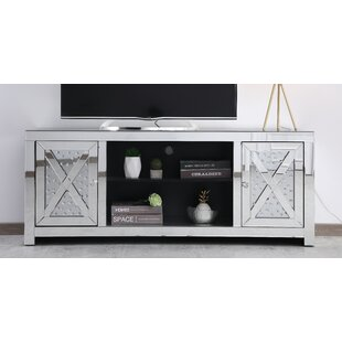 Aaru TV Stand for TV up to 50 with Optional Fireplace