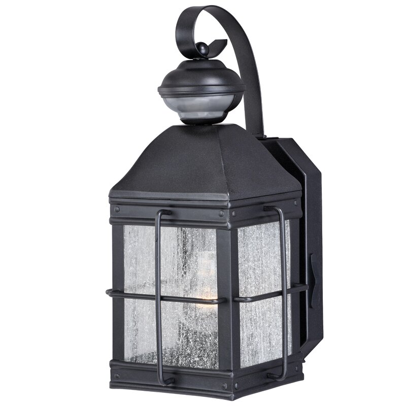 Outdoor Wall Lantern With Motion Sensor