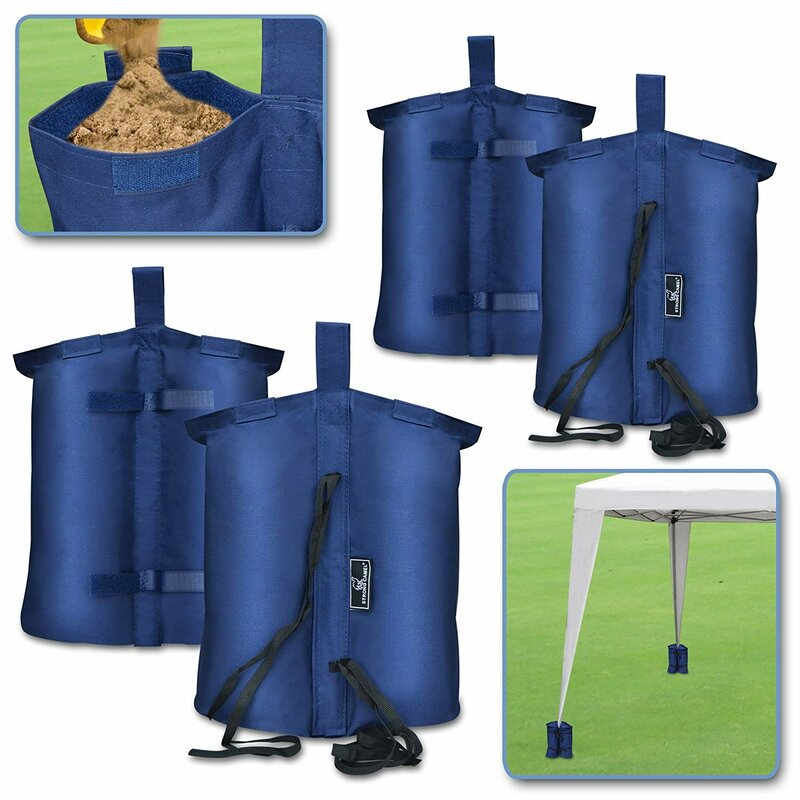 Leg Weights Bag for Pop up Canopy Tent Feet Sand Bag Tool Keep Stable New