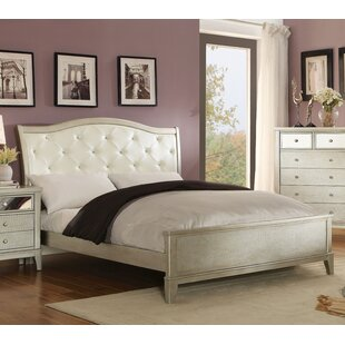 Clementina Upholstered Panel Bed