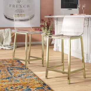 Tim 24 Bar Stool (Set of 2) Willa Arlo Interiors