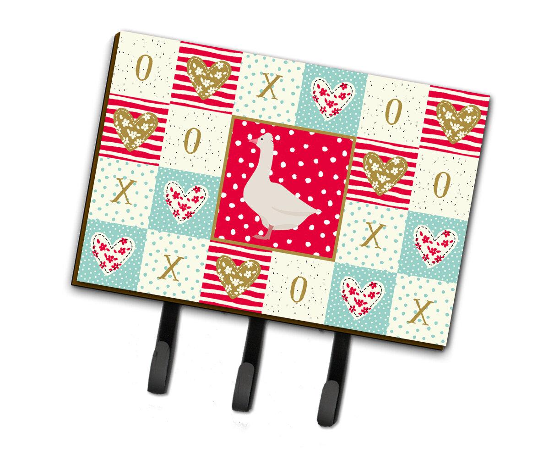 The Holiday Aisle Vuslat Roman Goose Love Wall Key Organizer With Key Hooks Wayfair
