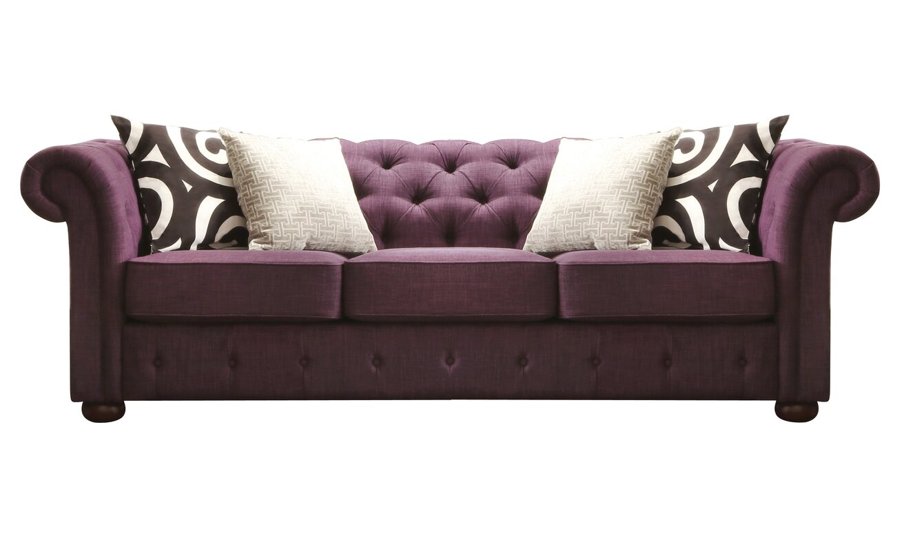 House of Hampton Augustine Tufted Chesterfield Sofa & Reviews ...