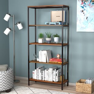 Defranco Etagere Bookcase by E..