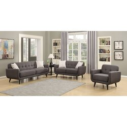 Ac Pacific Crystal Piece Living Room Set Wayfair