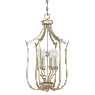 Compare prices Cecil 6-Light Foyer Lantern Pendant By House of Hampton