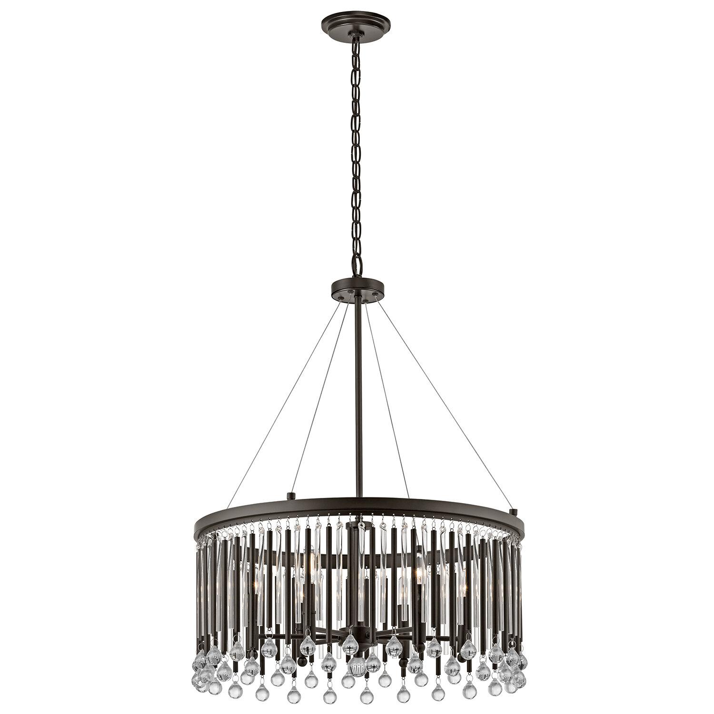 Willa arlo interiors calumet 6 light crystal chandelier wayfair arubaitofo Choice Image