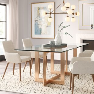 Kendra Dining Table Everly Quinn