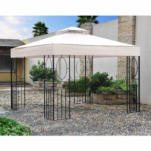 Breeze 10 Ft. W x 10 Ft. D Steel Patio Gazebo by Sunjoy