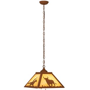 Meyda Tiffany 2-Light Dome Pendant