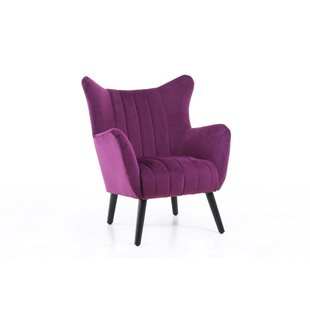 Jan Wingback Chair by Everly Quinn