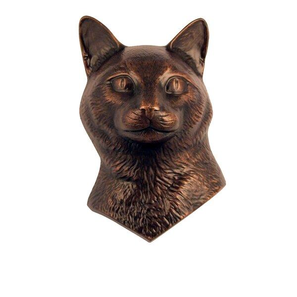 Brass door Handle Lucky Cat Design Welcome Cat Design Door Decor Handicraft BM14