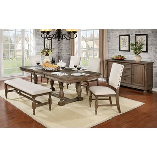 Kipphut 6 Piece Extendable Dining Set Andrew Home Studio
