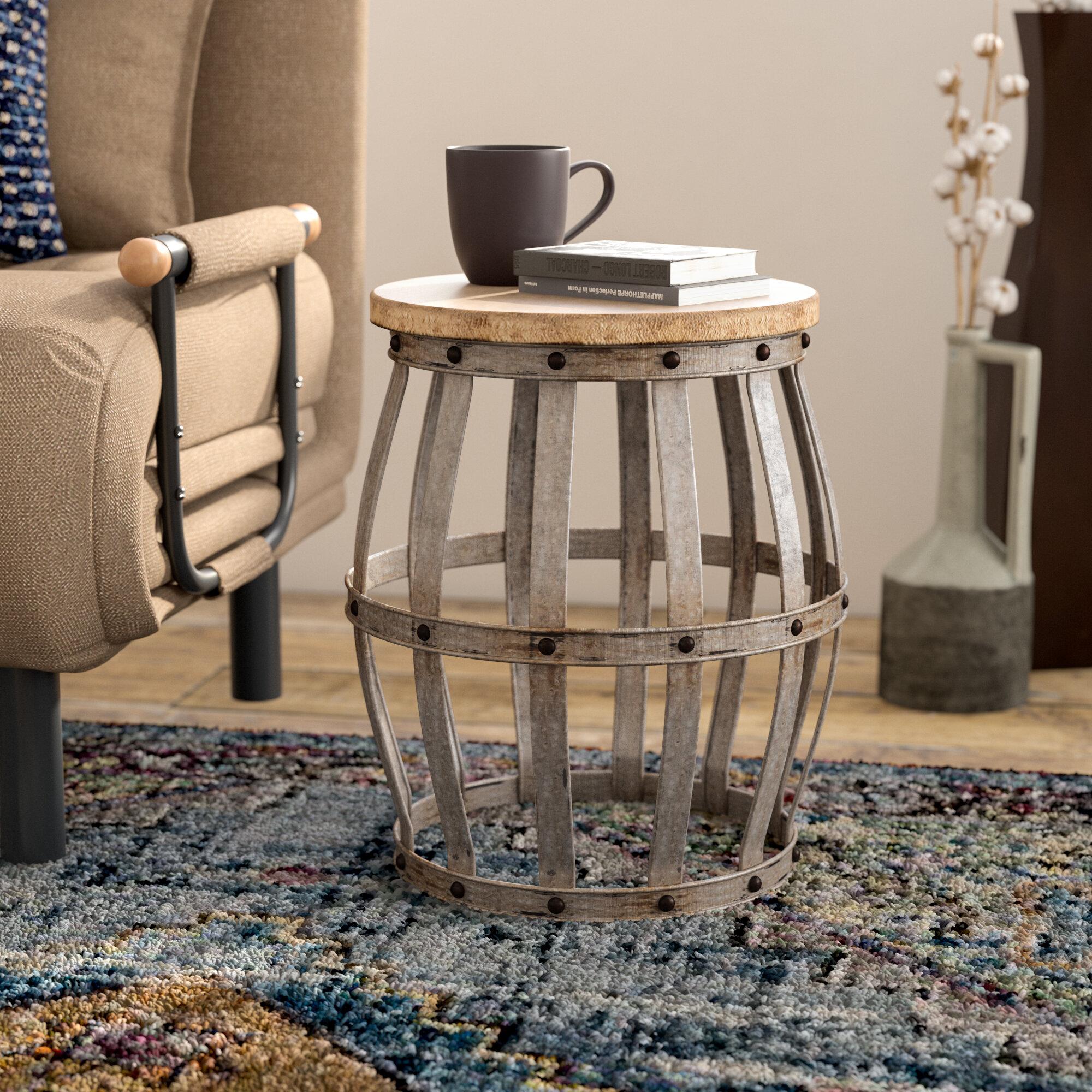 Trent Austin Design Hollier Frame End Table Reviews Wayfair
